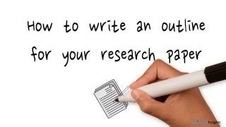 How to Write a Research Paper Thesis Synonym