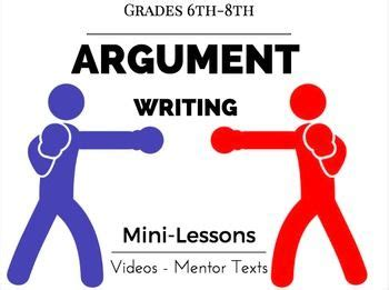 Research Workshop: Writing an Argumentative Essay